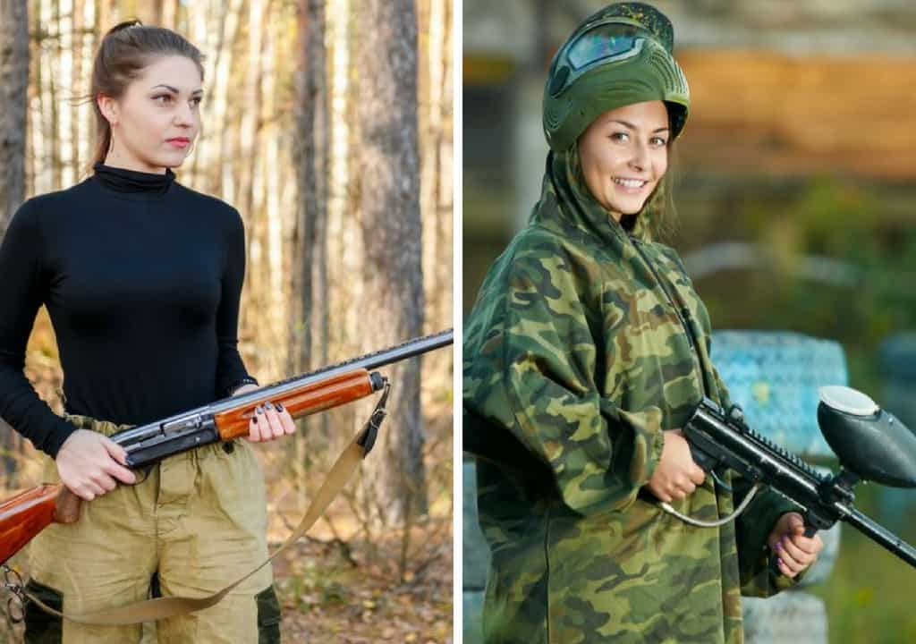 Difference Between Hunting and Paintball Guns