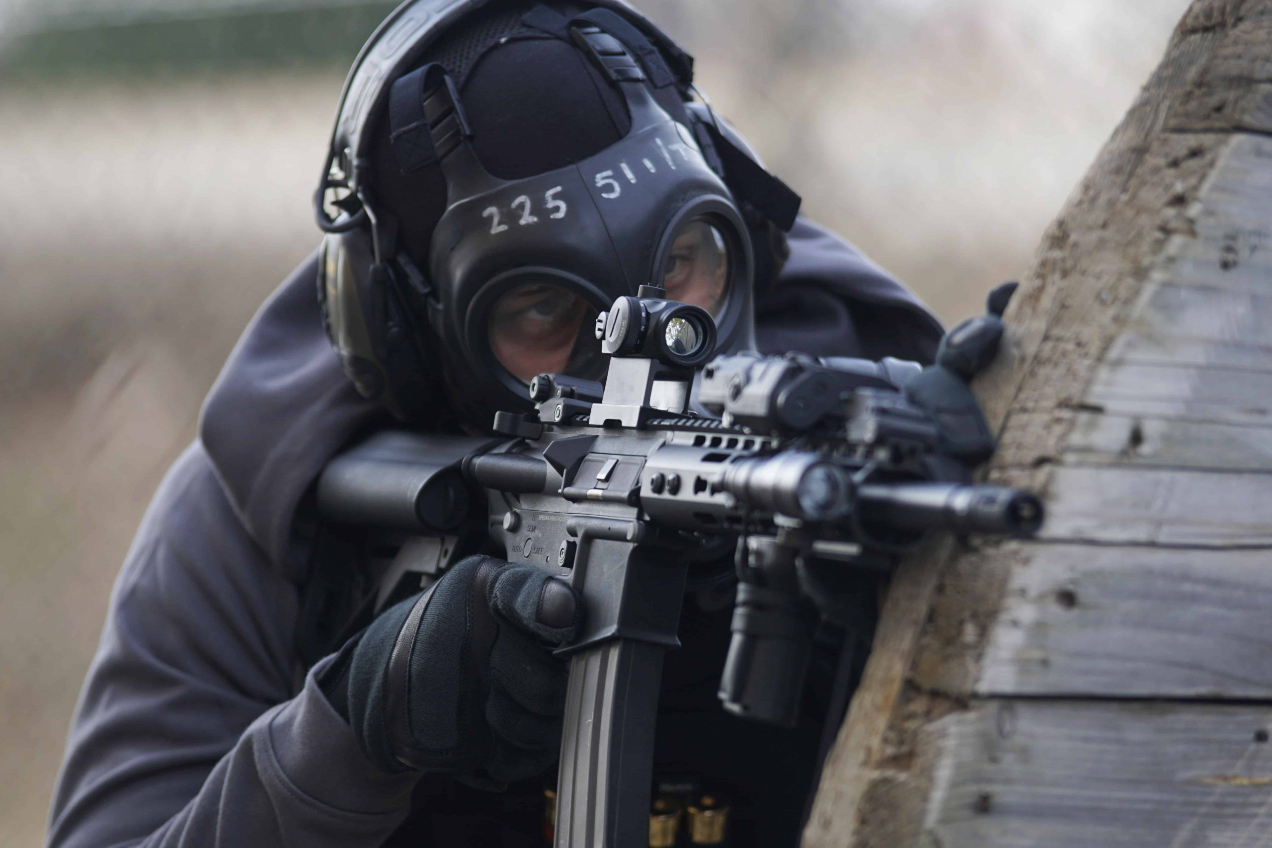 Firearms Training Using Airsoft