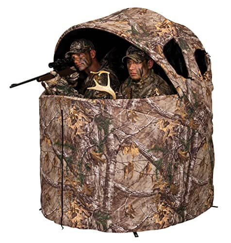 Ameristep Deluxe Two Person Tent Chair Hunting Blind review
