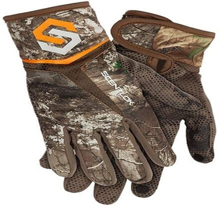 ScentLok Men's Full Season Bow Release Gloves