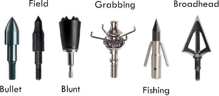 Different Arrow Tips for Hunting