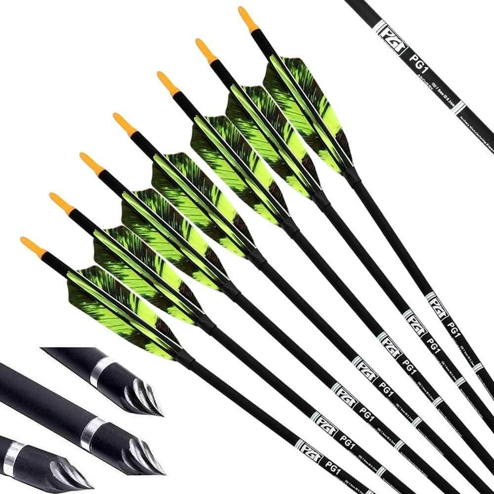 PG1Archery 30Inch Carbon Arrows